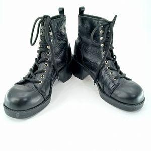 Vintage 90s Esprit Lug Combat  Boots